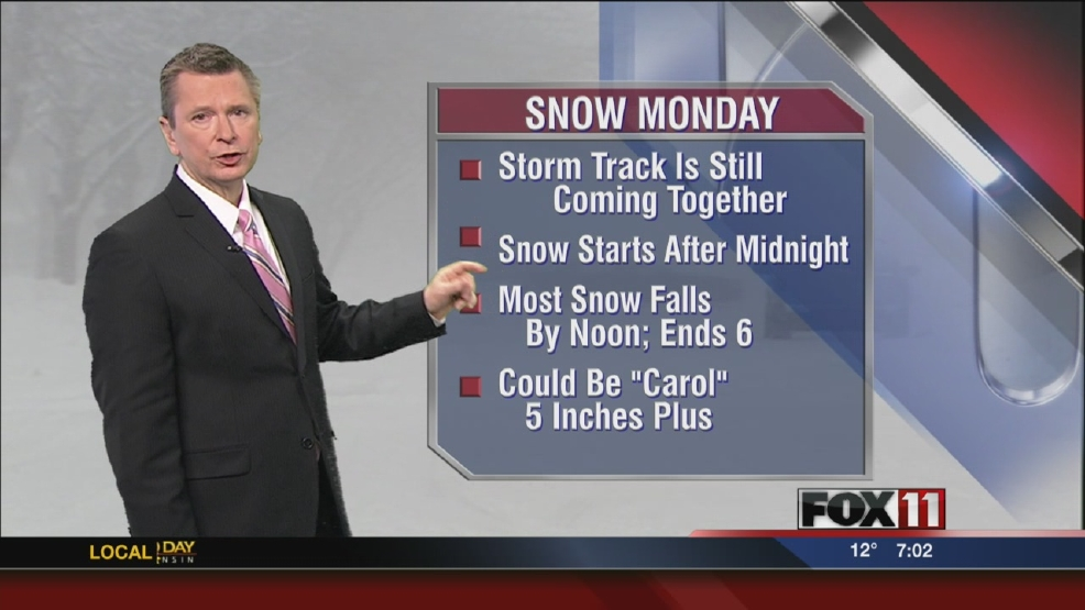 Snow chances