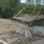 Damaged bridge leaves Pike County families stranded