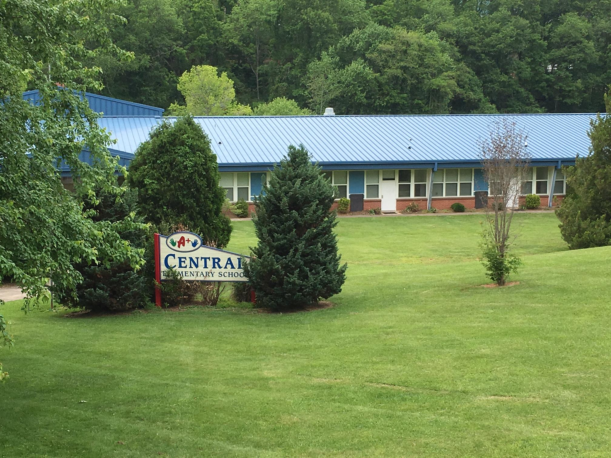 Haywood County School leaders put Central Elementary on the surplus list last year. But now county commissioners want the school board to remove it from the surplus list. (Photo credit: WLOS staff)