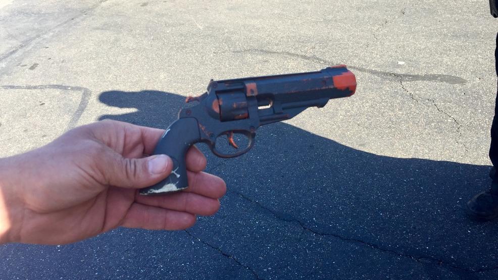 redding police arrest woman holding toy gun near cvs krcr