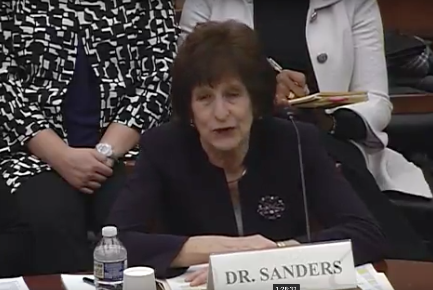 Dr. Patricia Sanders, chair, NASA Aerospace Safety Advisory Panel / Photo: The House Science, Space and Technology Committee's Subcommittee on Space<p></p>