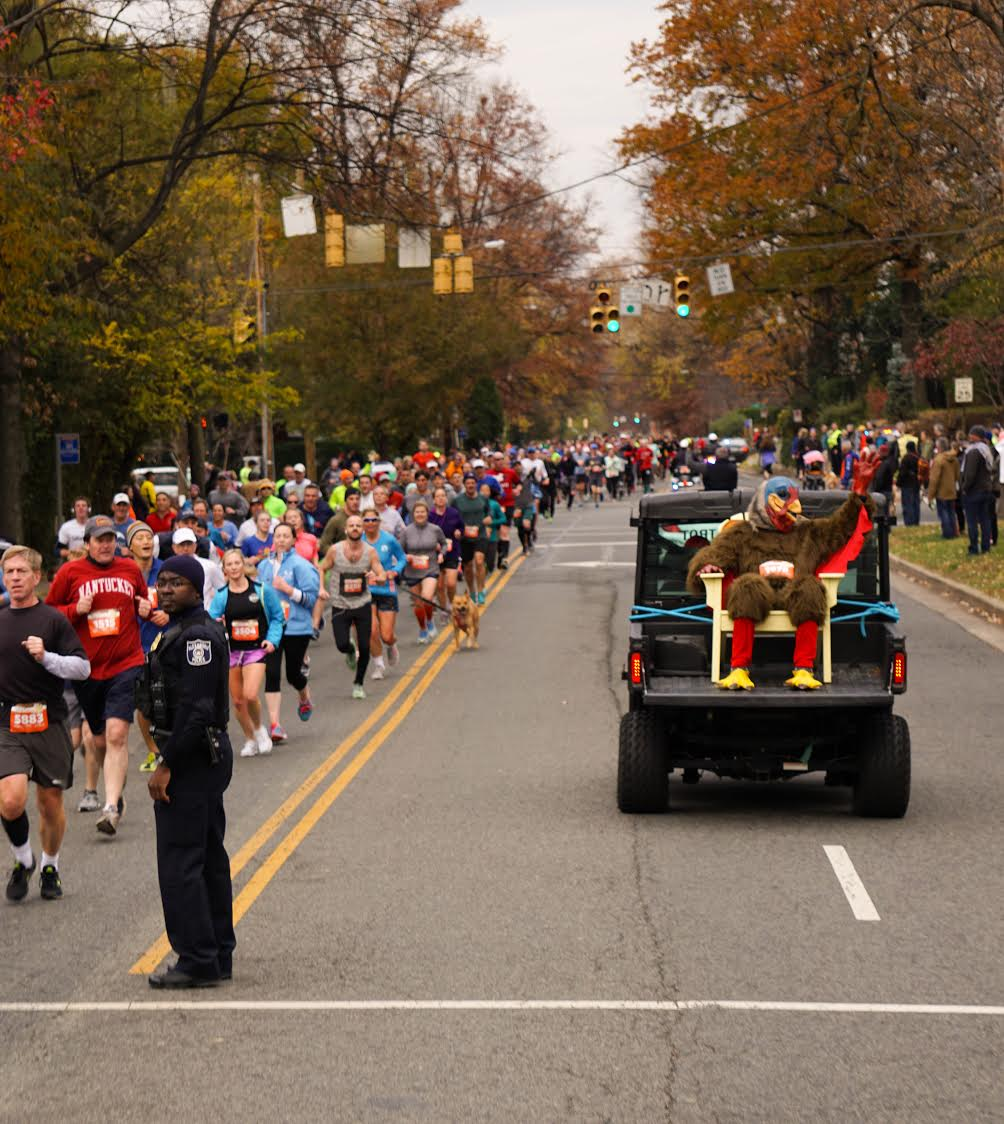 There are tons of opportunities to chase a Turkey in DC, MD, VA, take advantage and get running! (Photo credit Brian Danza, DC Road Runners)<p></p>