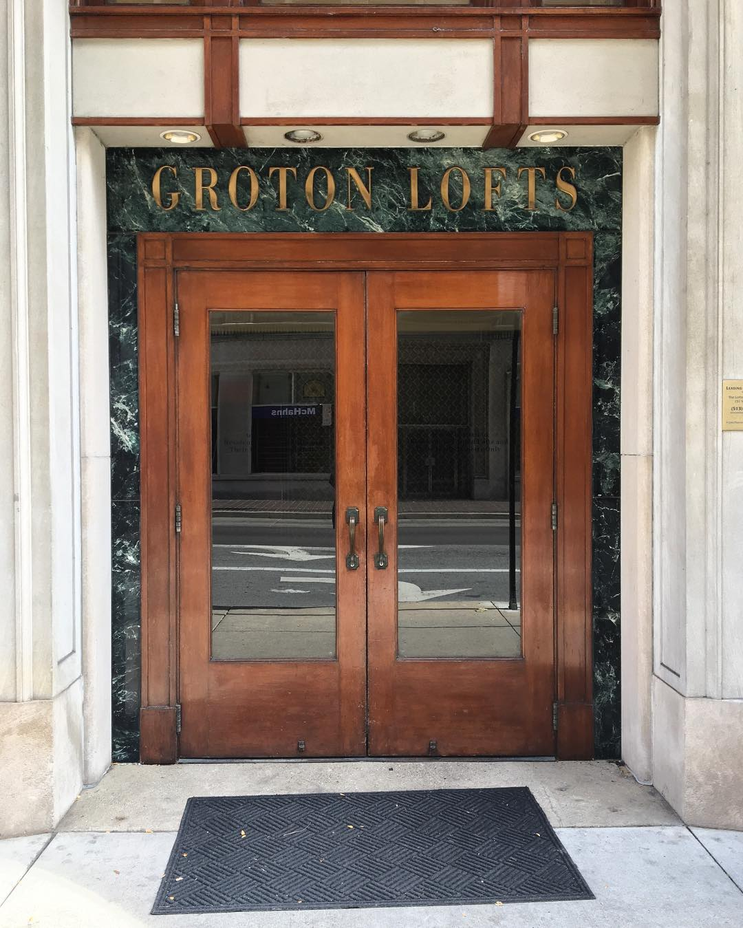 DOOR LOCATION: Downtown Cincinnati / Instagram user @CincinnatiDoors scours the city for interesting entrances to buildings, photographs them head-on, and posts the photos to their account. It allows followers to glimpse the many styles of doors around town, offering a different design perspective many wouldn't consider without direction from the account. / IMAGE: IG user @CincinnatiDoors // Published: 1.24.17