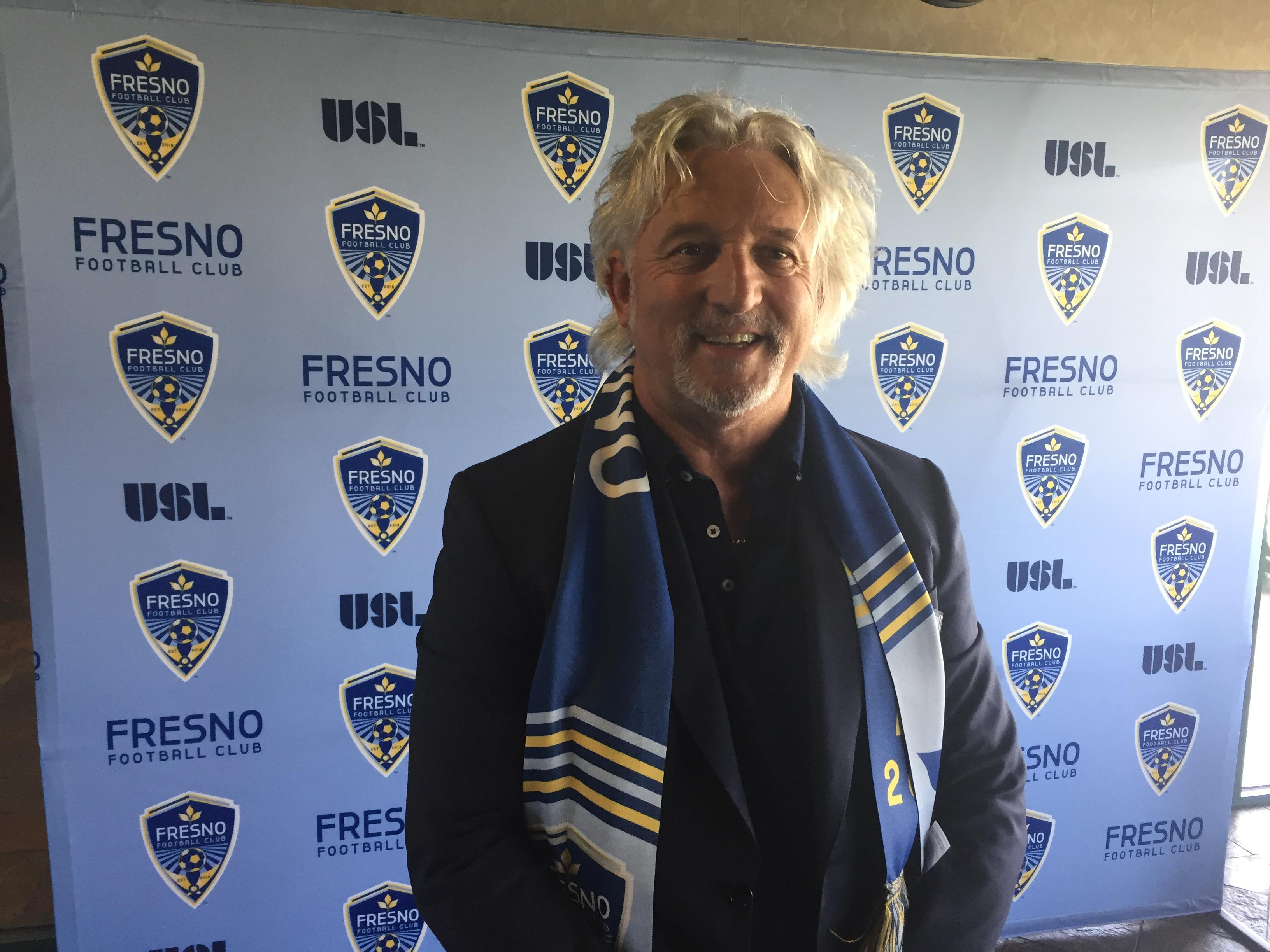 Fresno FC lead investor Ray Beshoff says there will be a mascot for the team eventually. He likes the idea of a fox.