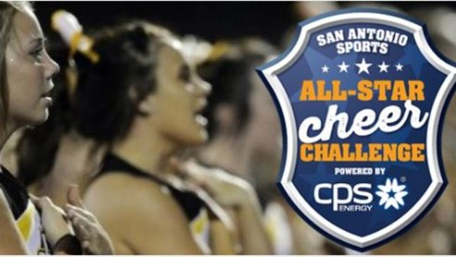 Vote now in the San Antonio Sports All-Star Cheer Challenge