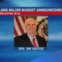 Livestream coverage of Gov. Justice state budget announcement