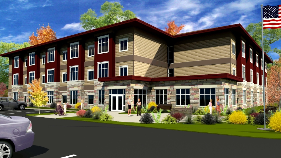A rendering of the proposed Green Bay Veterans Manor. (Courtesy of Cardinal Capital Management)