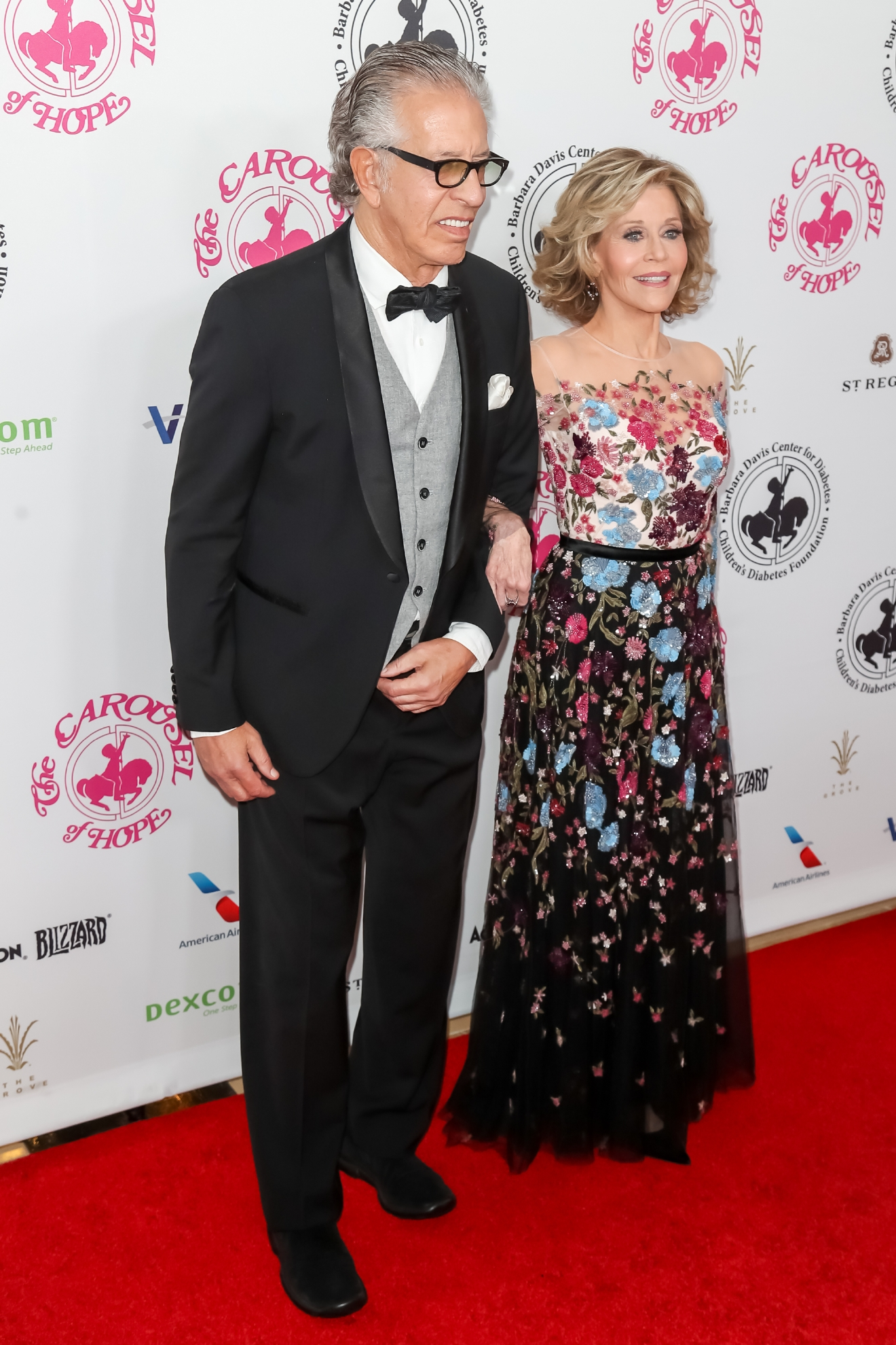 Richard Perry and Jane Fonda attending the 2016 Carousel of Hope Ball, held at the Beverly Hilton Hotel, in Beverly Hills, California.                                    Featuring: Richard Perry, Jane Fonda                  Where: Beverly Hills, California, United States                  When: 09 Oct 2016                  Credit: Michael Boardman/WENN.com