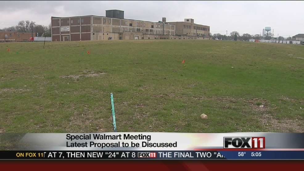 Special meeting to discuss Walmart's latest proposal