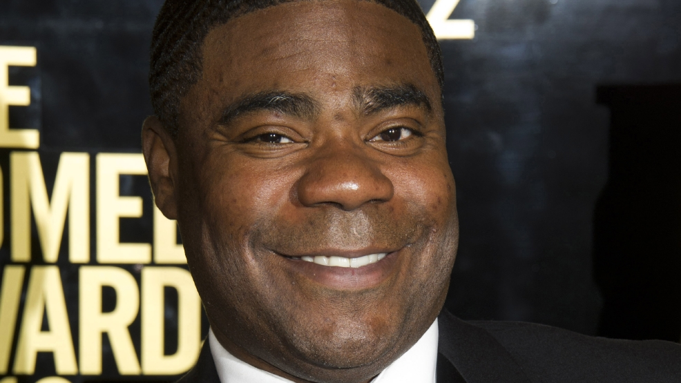 This April 28, 2012 file photo shows Tracy Morgan at The 2012 Comedy Awards in New York. (AP Photo/Charles Sykes, File)