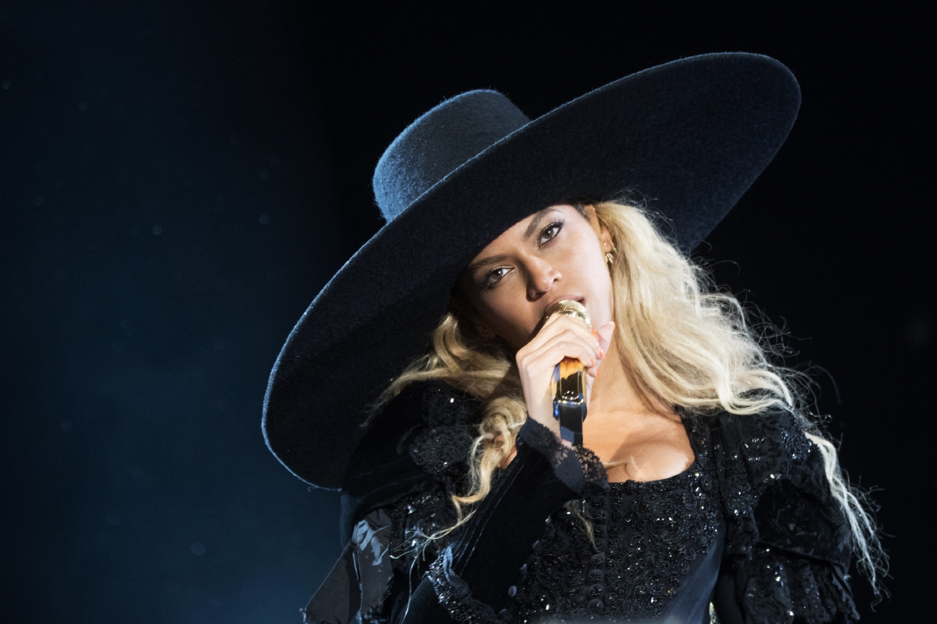 IMAGE DISTRIBUTED FOR PARKWOOD ENTERTAINMENT - Beyonce performs during the Formation World Tour at Levi's Stadium on Saturday, September 17, 2016, in Santa Clara, California. (Photo by Daniela Vesco/Invision for Parkwood Entertainment/AP Images)