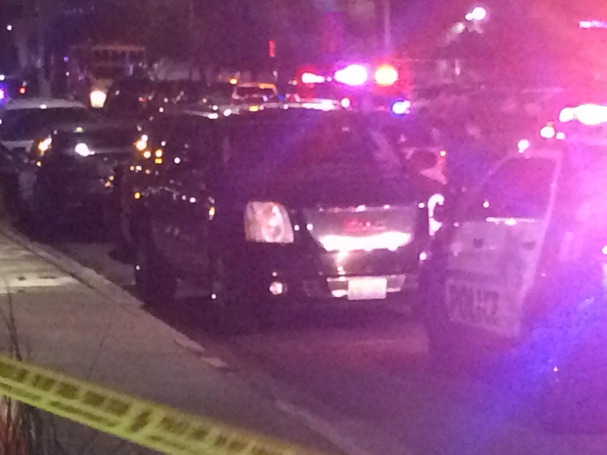Metro officers carrying armed rifles. Perimeter set at UMC hospital. No one allowed inside ER (Antonio Castelan | KSNV)
