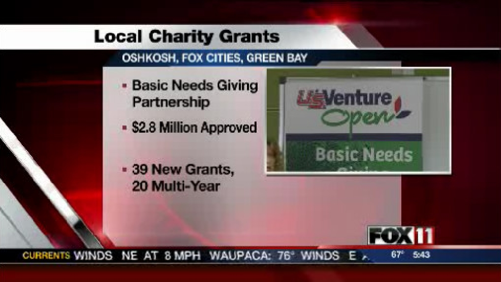 Basic Needs Giving Partnership announces grants