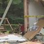 Couple's new home explodes in central Wisconsin