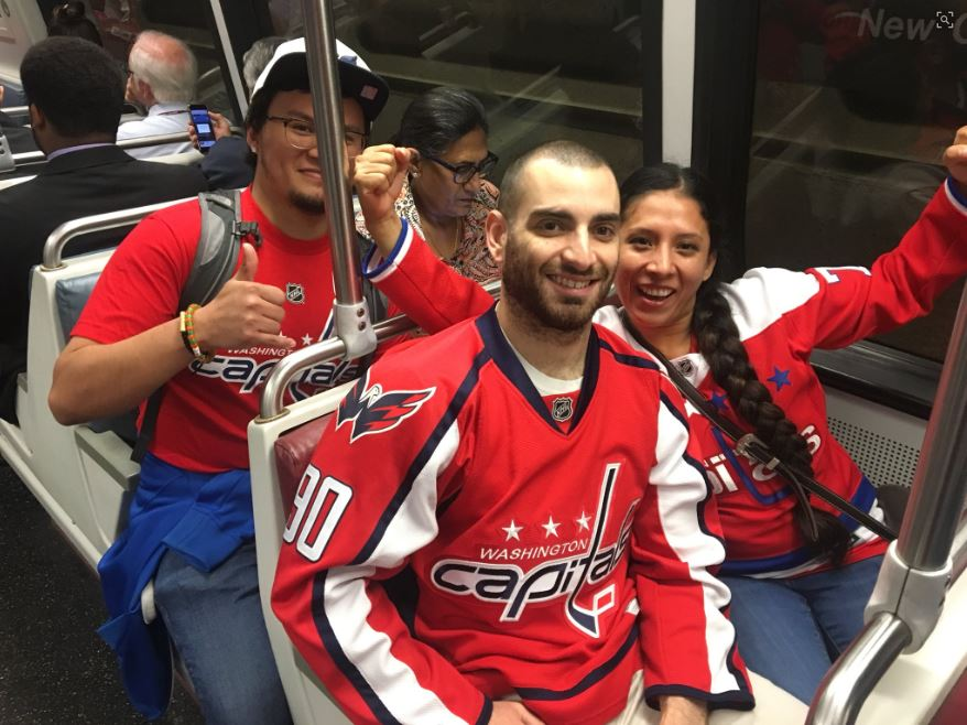 Capitals' Stanley Cup victory parade taking over D.C. (Photo: Ryan Hughes)