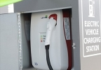 LVCVA unveils first electric vehicle charging stations
