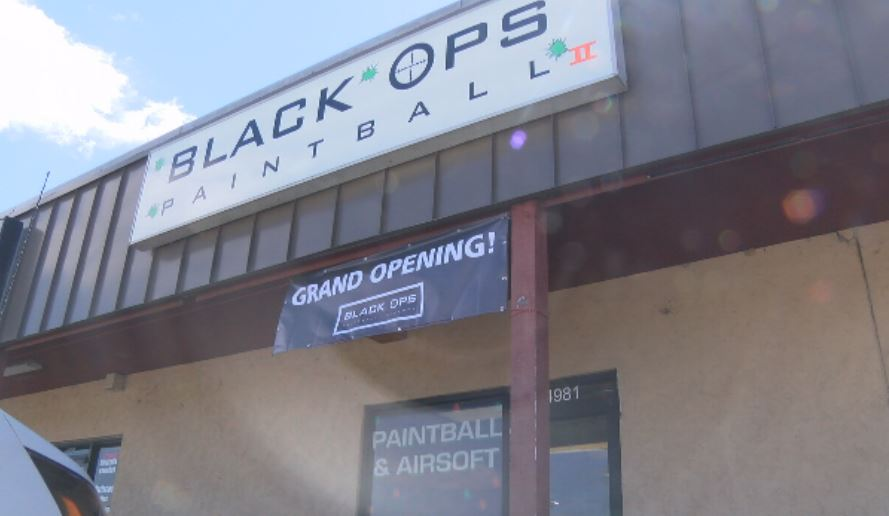 The Black Ops Paintball owner says they just had their grand opening Saturday on Socastee Boulevard.  They still reopened Sunday, after being robbed during the early morning hours (Liz Cooper/WPDE)
