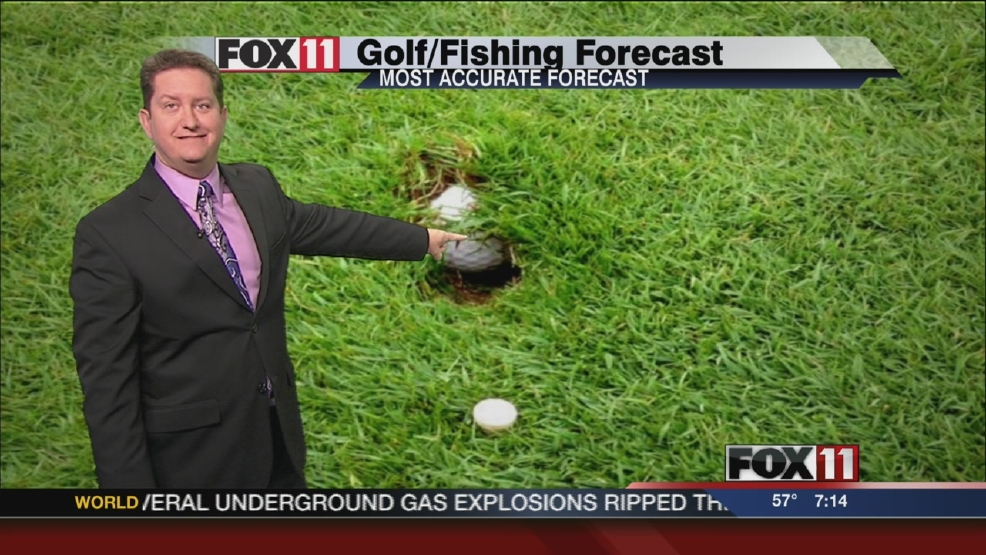 Thumbnail for Aug. 2-3, 2014 golf and fishing weekend forecast
