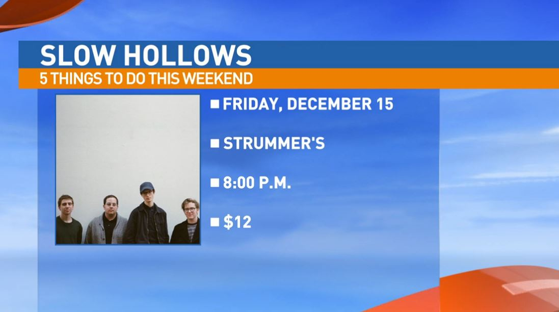 Slow Hollows Friday at Strummer's in Fresno's Tower District