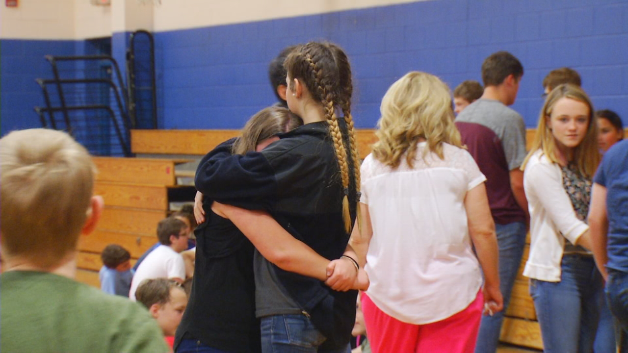 A fatal crash Wednesday night claimed the life of a 13-year-old Madison County girl, put her 12-year-old half-sister in intensive care and left the community in shock. (Photo credit: WLOS staff)