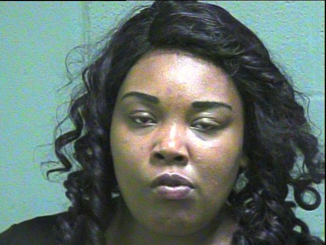 Jasmine Bell, 19, was arrested in Oklahoma City on complaints of using access to computers and offering to engage in an act of prostitution. (Oklahoma County Jail)