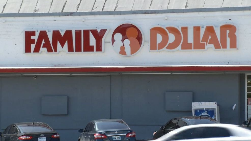 Customers battle heat at Family Dollar stores