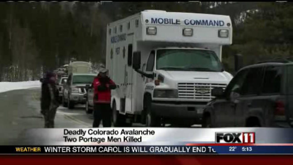 2 killed in Colorado avalanche came from Wisconsin