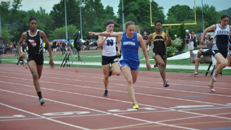 Wrightstown's Bonnie Draxler won 10 career state track and field titles. (Doug Ritchay/WLUK)