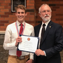 Local high school senior receives highest Congressional honor