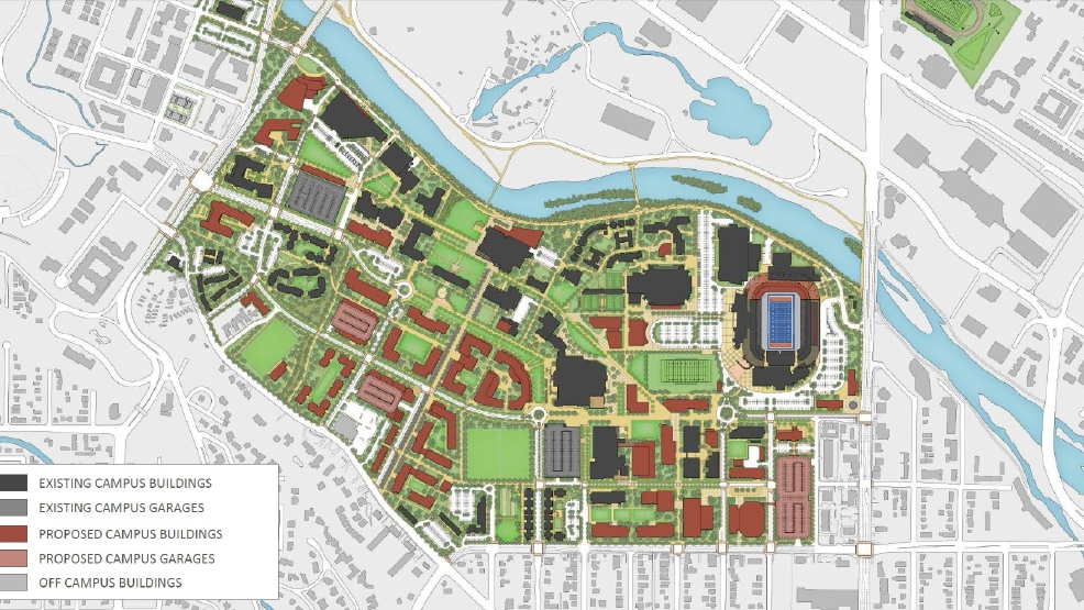 Boise State expansion plan What nearby neighborhoods can expect in