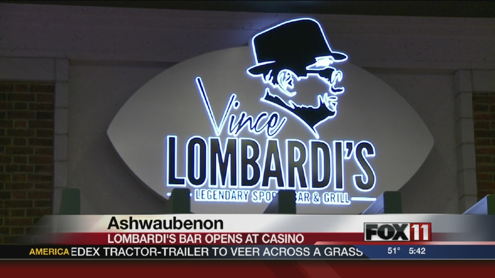 Lombardi-themed bar opens at Oneida Casino