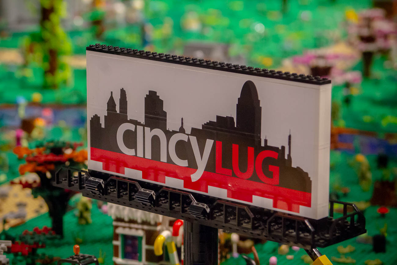 'LUG' stands for LEGO User Group. / Image: Katie Robinson, Cincinnati Refined // Published: 11.8.19