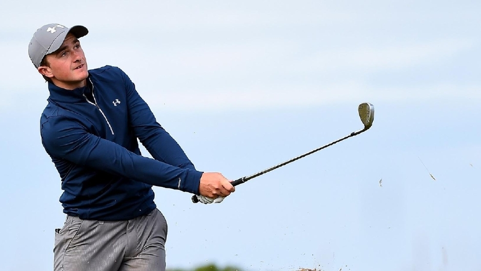Paul Dunne shot a 66 Sunday at the British Open, the lowest by an amateur in the Open at St. Andrews. (Courtesy British Open via Twitter)