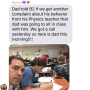 Father attends class with son after receiving complaints from teacher