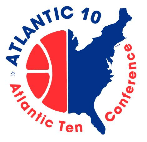 83-84 A10 Basketball Logo