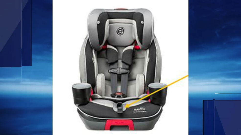 Evenflo Issues Recall On Car Seat Over Safety Harness