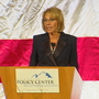 Education Secretary DeVos speaks in Bellevue, met by protests
