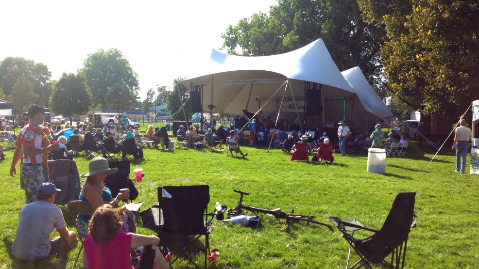 Hundreds turn out for last day of the 21st annual Fox Jazz Fest in Menasha.