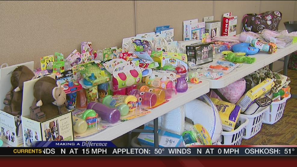 Salvation Army throws baby shower