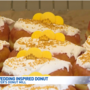 Local doughnut shop offering a special royal wedding treat