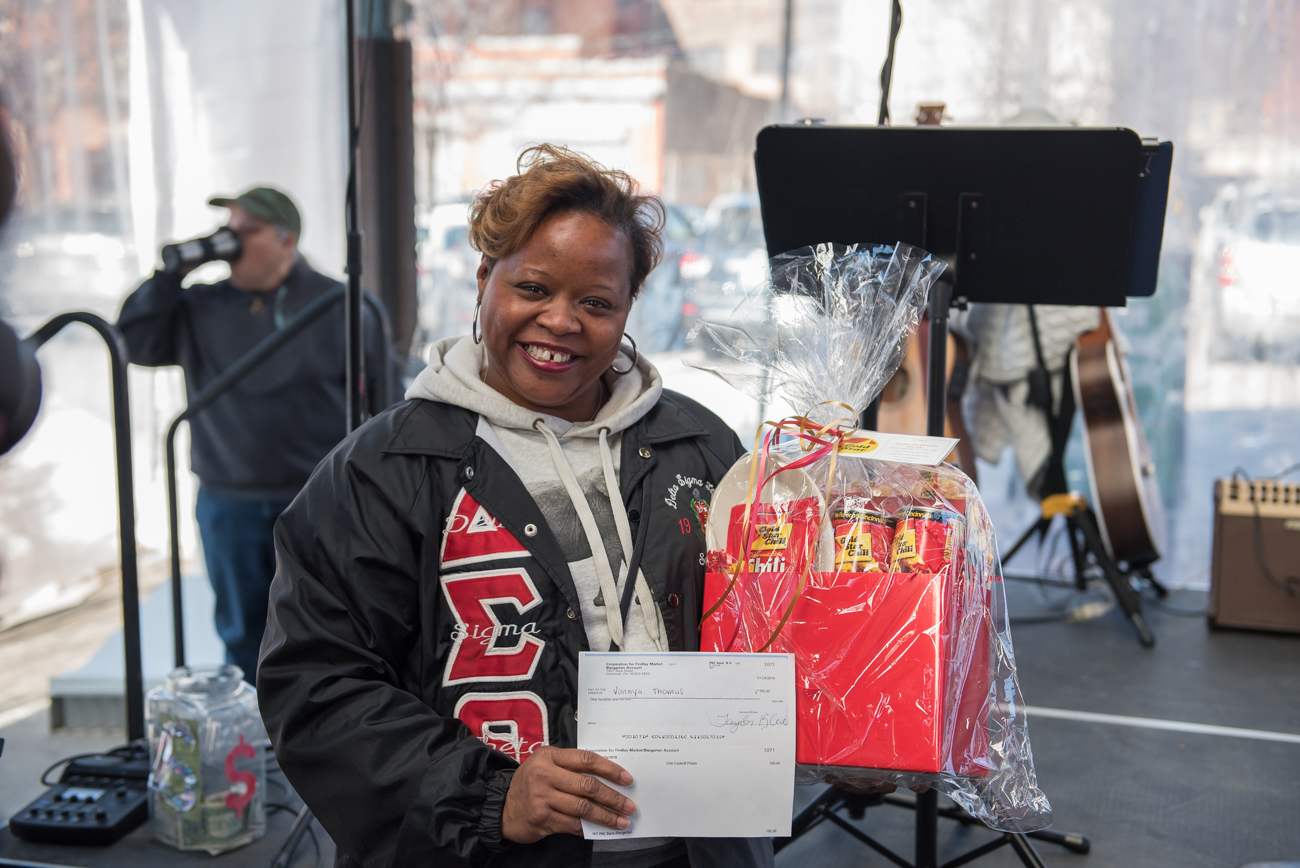 Vonnya Thomas won 1st place and was named 2019's Chili Meister. / Image: Mike Menke // Published: 1.28.19