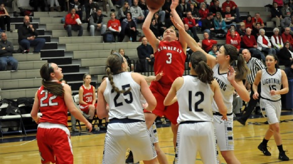 Kimberly guard Frankie Wurtz (3) recently committed to play at UW-Green Bay. (Doug Ritchay/WLUK)