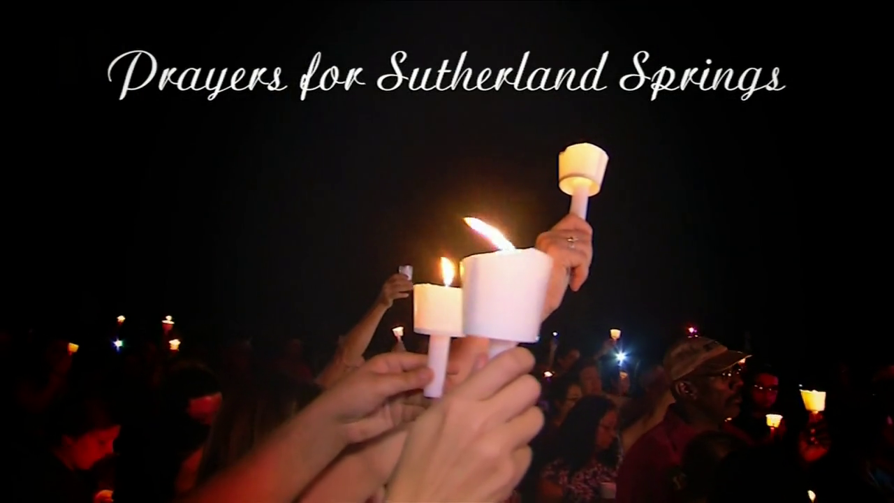 Remembering the victims of the Sutherland Springs church shooting.