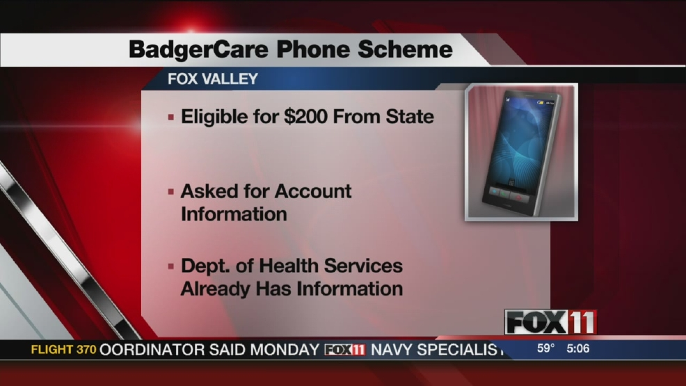 State warns of fake BadgerCare Plus calls
