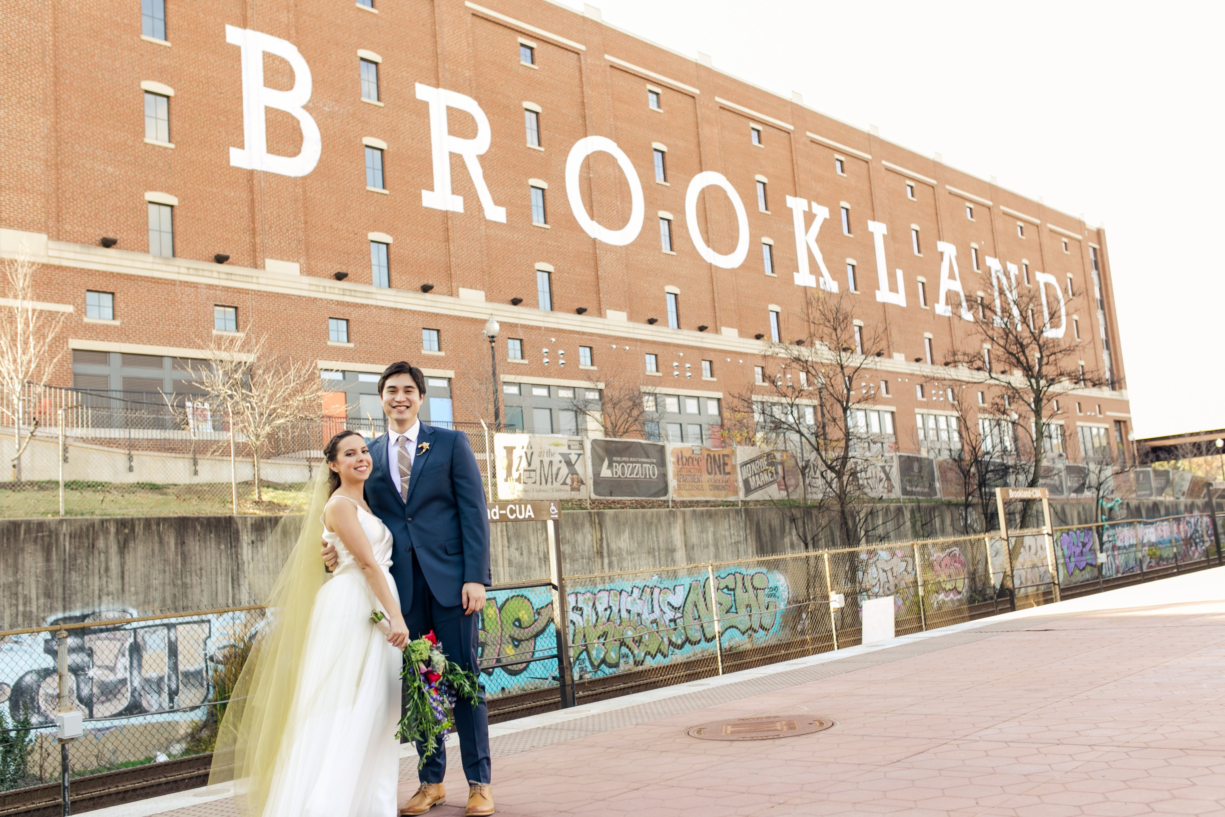 """He additionally accommodated our budget by cutting out things we didn't want like an engagement shoot and a second photographer,"" says Stephanie. (Image: Brandon C. Photography)"