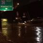 Rain in the Chattanooga area creates challenges for drivers