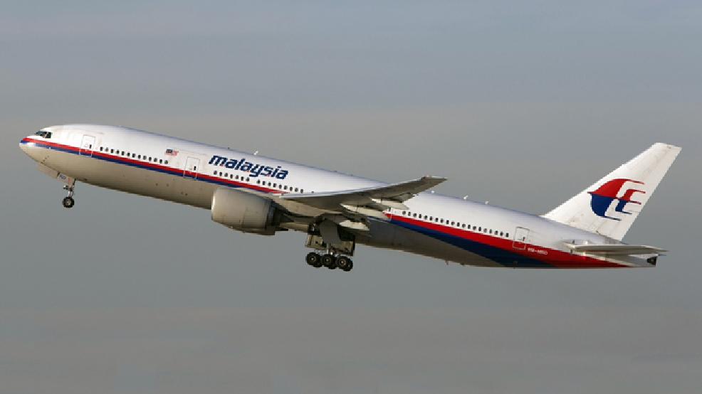 In this Nov. 15, 2012 photo, a Malaysia Airlines Boeing 777-200 takes off from Los Angeles International Airport in Los Angeles. The plane, with the tail number 9M-MRD, is the same aircraft that was heading from Amsterdam to Kuala Lumpur on Thursday, July 17, 2014 when it was shot down near the Ukraine Russia border, according to Anton Gerashenko, an adviser to Ukraine's interior minister. (AP Photo/JoePriesAviation.net)
