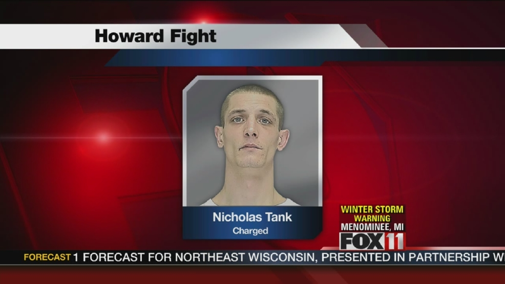Man charged in Howard fight investigation