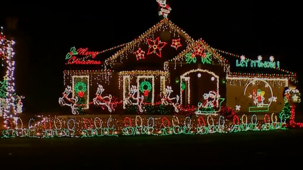 brentwood man puts up award winning christmas display honoring wife in nearby nursing home