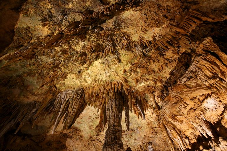 Beneath the earth of the Shenandoah Valley  is an almost alien landscape. At the Luray Caverns, visitors can walk along a mile-long path to explore this natural wonder, where they can see  naturally-formed  caves. Just over an hour outside of D.C., this is a great, kid-friendly day trip  that will delight adults too. (Amanda Andrade-Rhoades/DC Refined)